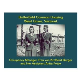 De Humor van de Huisvesting van Butterfield: Briefkaart
