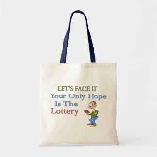 De Humor van de loterij Budget Draagtas