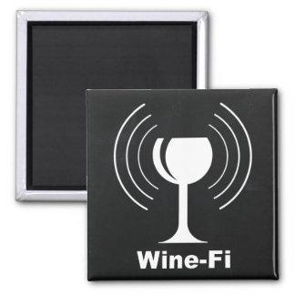 De Humor van de Minnaar van de Wijn wijn-FI Magneet