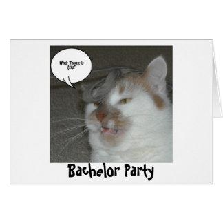 De Humor van de Partij van de vrijgezel Briefkaarten 0