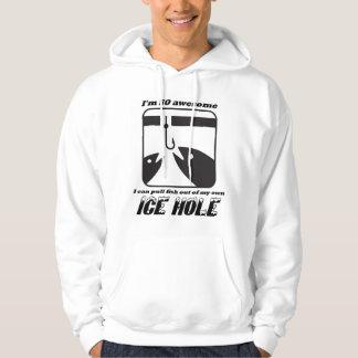 De Humor van de Visserij van het ijs Hoodie