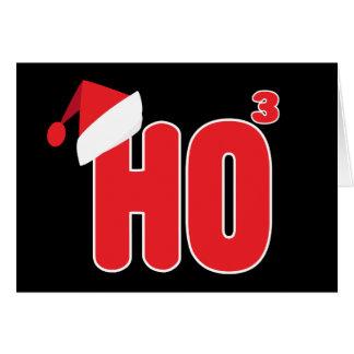 De Humor van Ho van Kerstmis van Nerdy van Geek x3 Briefkaarten 0