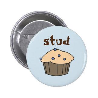 De Humoristische Knoop van de Muffin van de Nagel Ronde Button 5,7 Cm