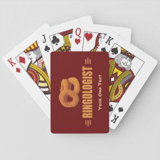 De humoristische Titel van de Ring van de Ui Speelkaarten