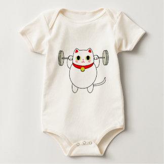 De Hurkende Kat van Neko van Maneki Baby Shirt