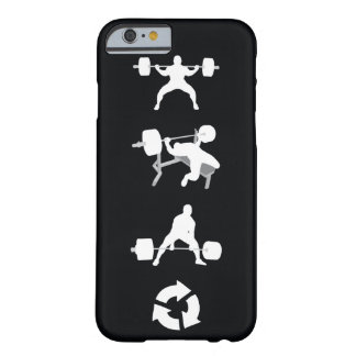 De hurkzit, de Pers van de Bank, Deadlift, Barely There iPhone 6 Hoesje