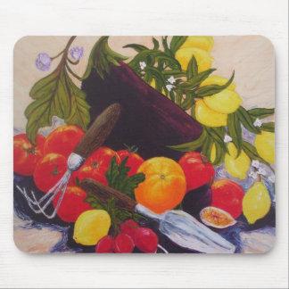 De Hutspot van vruchten & van Groenten Muismat