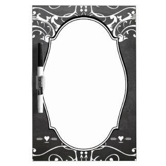 De Huwelijken van de Typografie van het bord Whiteboard