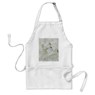 De hydrangea hortensia bloeit Bloemen Witte Standaard Schort