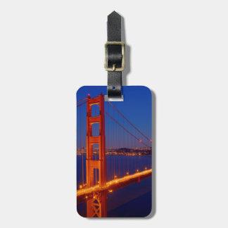 De iconische brug met San Francisco Bagagelabel
