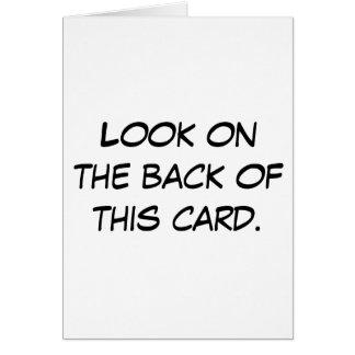 De idiotkaart kaart