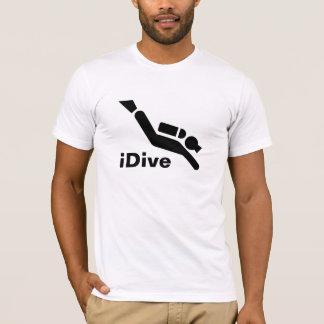 De iDive T-shirt van het vrij duiken