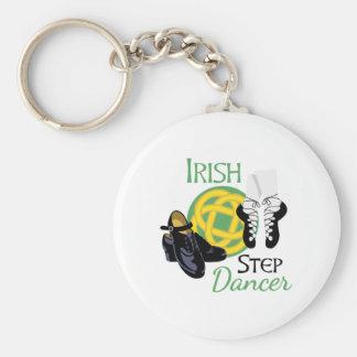 De Ierse Danser van de Stap Sleutelhanger