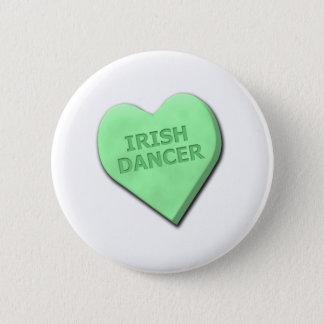 De Ierse Danser van het liefje Ronde Button 5,7 Cm