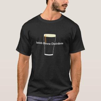 De Ierse Drinker van het Bier T Shirt
