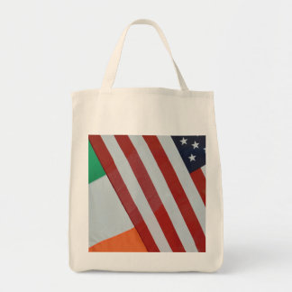 De Ierse en vlaggen van de V.S. Draagtas