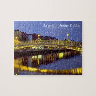 De Ierse foto-raadsel-met-gift-Doos van het Puzzels