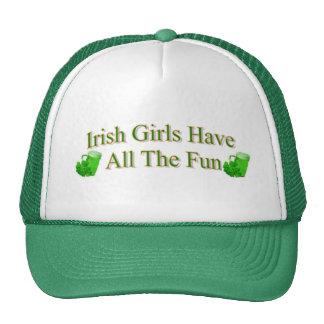 De Ierse Meisjes hebben Al Pret Petten Met Netje