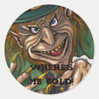 De Ierse Sticker van de KABOUTER