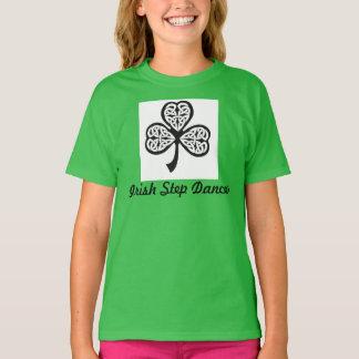 De Ierse t-shirt van de Danser van de Stap - de