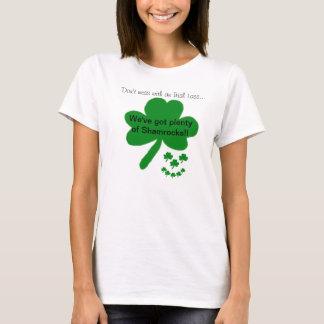 De Ierse T-shirt van de Humor van de Klavers van