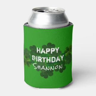 De Ierse Verjaardag personaliseerde Drank Coozie