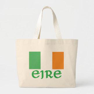 De Ierse Vlag van IERLAND Grote Draagtas