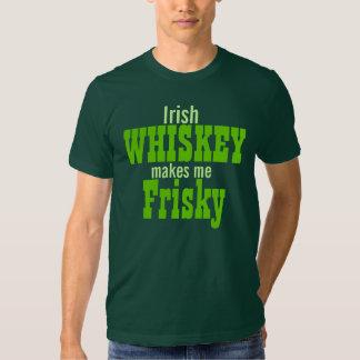 De Ierse Whisky maakt me Dartel Tshirt
