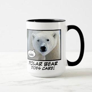 De ijsbeer geeft! mok
