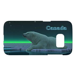 De ijsbeer van de Rand van het ijs - Canada Samsung Galaxy S7 Hoesje