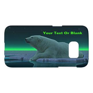 De ijsbeer van de Rand van het ijs Samsung Galaxy S7 Hoesje