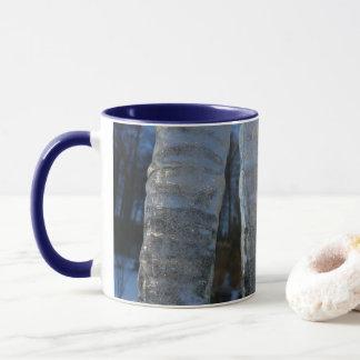 De ijskegels vatten de Blauwe Fotografie van de Mok