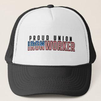 De Ijzerbewerker van de Unie Trucker Pet