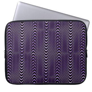 De Illusies van paarse Mensen…. Laptop Sleeve