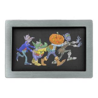 De illustratie van de cartoon van Halloween de Gespen