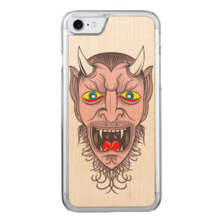 De Illustratie van de duivel Carved iPhone 8/7 Hoesje