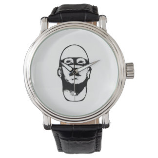 De Illustratie van de Held van Baldhead Horloges