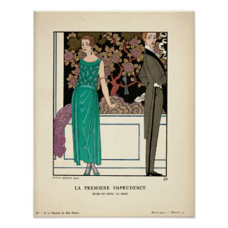 De illustratie van de Jugendstil 1920 door George Poster