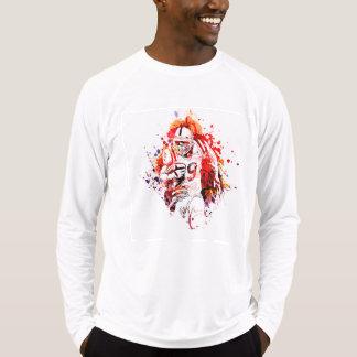 De illustratie van de kleur van Amerikaanse T Shirt