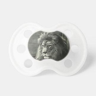 De Illustratie van de leeuw Fopspenen