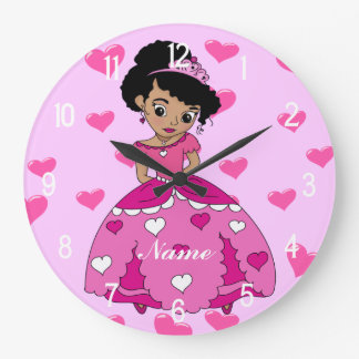 De Illustratie van de Prinses van het hart Grote Klok