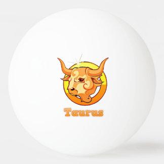 De illustratie van de Stier Pingpongbal