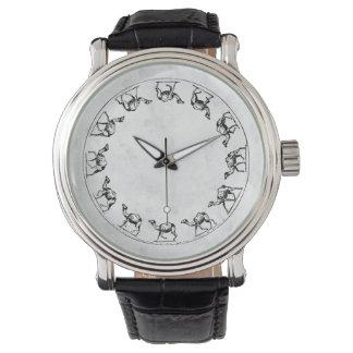 De Illustratie van de Tekening van de Inkt van de Horloge