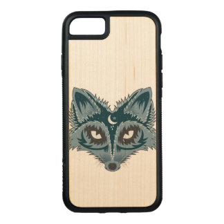 De Illustratie van de vos Carved iPhone 8/7 Hoesje