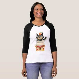 De Illustratie van de Waterverf van de Hond van T Shirt