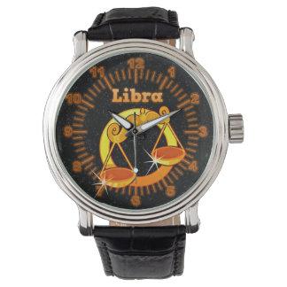 De illustratie van de Weegschaal Horloges