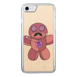 De Illustratie van Doll van het voodoo Carved iPhone 8/7 Hoesje