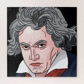 De Illustratie van het Portret van Beethoven Puzzel