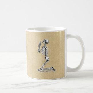 De Illustratie van het Skelet van de anatomie Koffiemok