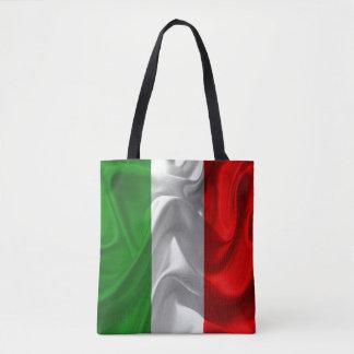De Imitatie van de Stof van de Vlag van Italië Draagtas